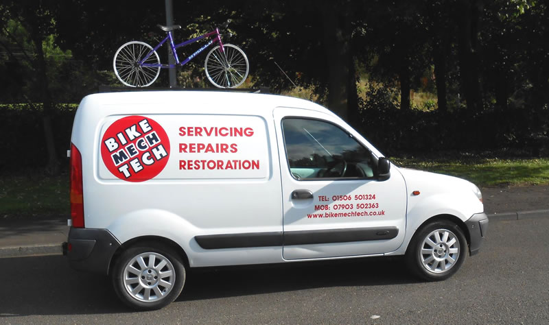 Mobile Bike Repairs in Falkirk and West Lothian